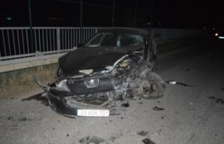 Kırklareli'nde iki otomobil çarpıştı: 1 ölü,...