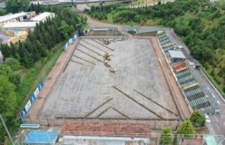 Kocaeli Derince Stadı yenileniyor