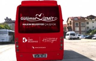 Kocaeli İzmit'te YKS'ye ücretsiz taşınıyor