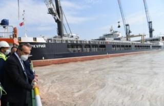 Kocaeli Valisi Seddar Yavuz, müsilaj temizleme çalışmalarını...