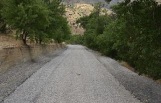 Malatya Kale'de asfalt sorunu çözüldü