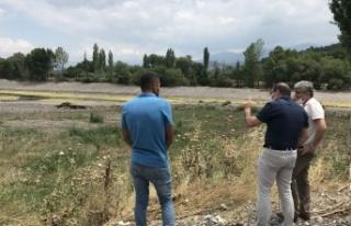 Manisa kırsalında sondaj kuyuları için etüt