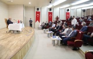 Mardin Valisi Mahmut Demirtaş icraatları değerlendirdi