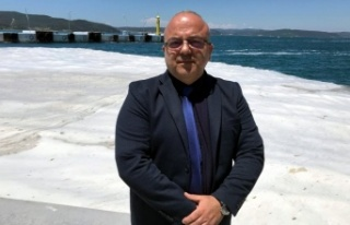 Marmara Denizi'nin müsilajdan kurtarılması...
