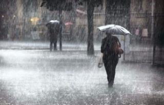 Meteoroloji'den 4 bölge için sağanak uyarısı!