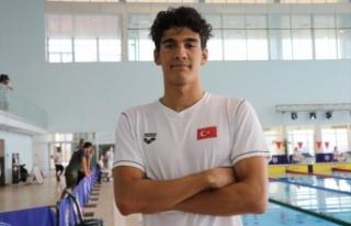 Milli yüzücü Yiğit Aslan, olimpiyatlara katılma...