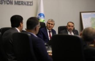 Sakarya Büyükşehir Belediye Başkanı Yüce,