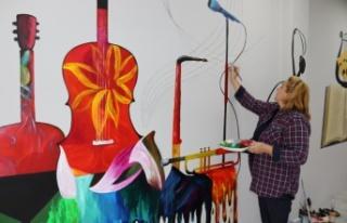Sanat Akademisi'nde duvarlar müziğe açılıyor