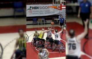 Tekerlekli Sandalye Basketbol Süper Ligi'nde Beşiktaş...