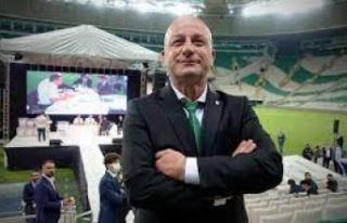 TFF, Bursaspor Kulübü başkanlığına seçilen...