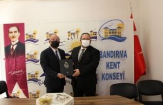 Türkiye Kent Konseyleri Birliği Marmara Denizi'nin...