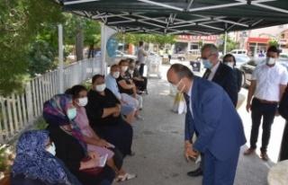 Vali Canalp Edirne'nin nüfusa oranla en çok Kovid-19...