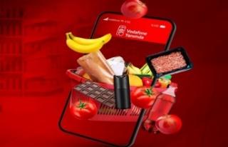 """Vodafone'dan """"Süpermarket"""" müşterilerine..."""