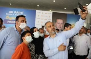 AK Parti bayramlaşmasında birlik beraberlik vurgusu