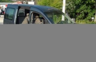 Panelvan ile hafif ticari araç çarpıştı: 1 yaralı