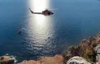 Antalya'da soluk kesen kurtarma operasyonu