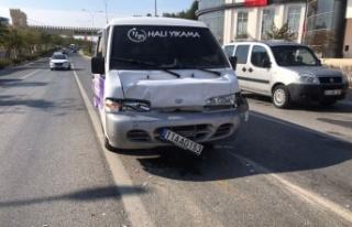 Trafik kazasında 1 kişi yaralandı