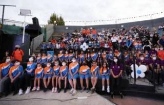 Bursa İnegöl'de yaz spor okullarında final