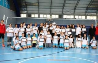 Bursa Nilüfer'de yaz spor okulları sona erdi