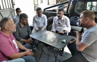 Bursa Yıldırım'da başkan vatandaş el ele