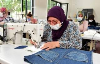 Bursa Yıldırım'da kadınlara tam destek