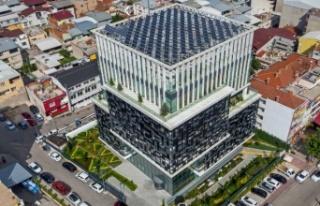 Bursagaz'ın çevreci binasında tasarruflu dönüşüm