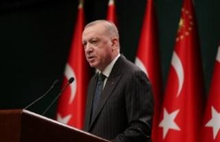 Cumhurbaşkanı Erdoğan'dan afet açıklaması