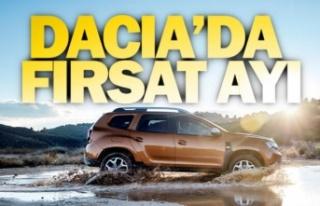 Dacia'dan eylül ayı kampanyası