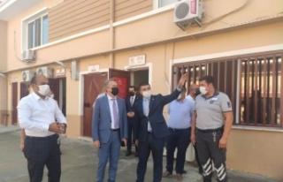 Edirne Emniyet Müdürü Alçalar, İl Göç İdaresi...