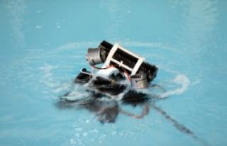 Edirne'de öğrencilerin tasarladığı su altı robotları...