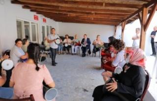 Ev hanımları kurdukları ritim grubu ile kenti tanıtacak