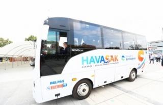 HAVASAK bir yılda 53 bin yolcuyu Sabiha Gökçen...