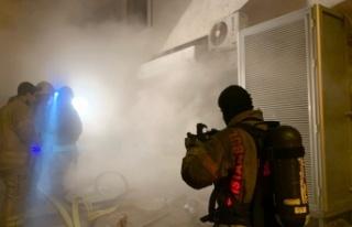 İstanbul'da bir depoda çıkan yangın söndürüldü