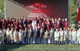 Konya Gıda ve Tarım Üniversitesi'nin ilk mezunları...
