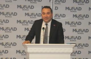 MÜSİAD Birleşme ve Devralmalar Komitesi Bursa'da...