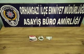 Orhangazi'de uyuşturucu operasyonlarında 4 şüpheli...