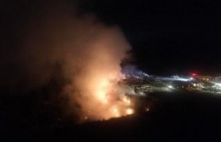 Osmaneli'nde yanan çöp döküm sahasında rehabilitasyon...