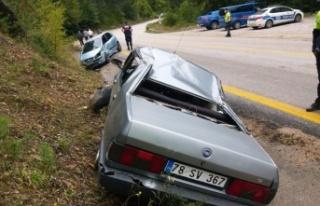 Sakarya ve Karabük'teki trafik kazalarında 5 kişi...