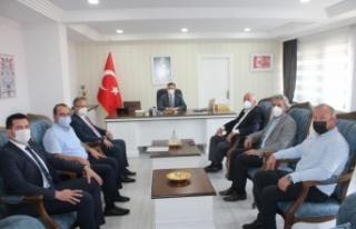 Söğütlü Belediye Başkanı Özten'den İlçe Kaymakamı...