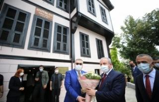 TBMM Başkanı Şentop, Kırklareli'nde muhtarlarla...