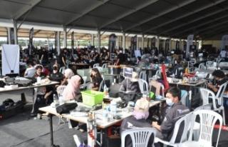 TEKNOFEST'te İHA Yarışmaları heyecanı Bursa'da...