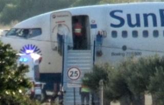 Yolcusu rahatsızlanan uçak Balıkesir'e zorunlu...