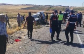 Adıyaman Samsat yolunda feci kaza: 1 öldü, 3 yaralı