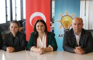 AK Parti Edirne İl Başkanı İba kentteki yatırımları...