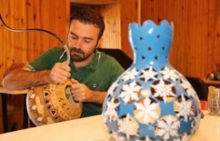 Su kabağı süsleme sanatı