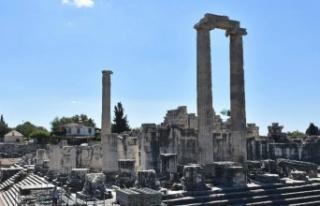 Aydın Didim'de müzelerin ziyaretçi sayısı...