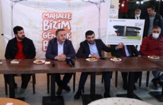 Bağcılar Belediye Başkanı Çağırıcı, gençlerle...