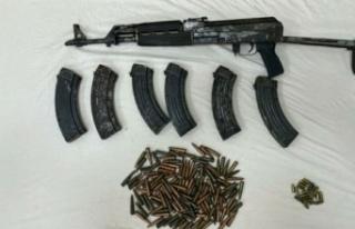 Uzun namlulu silah ve mühimmat yakalandı