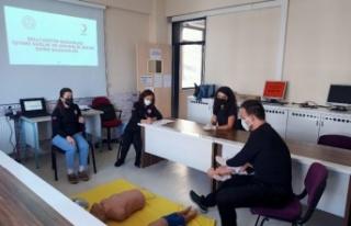 Bursa'da eğitimde 'ilk yardım' seferberliği