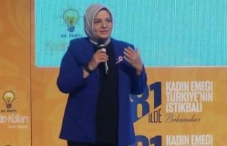 Bursa'da 'Kadın Emeği Türkiye'nin...